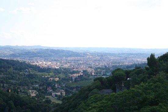 Eden Rock Resort: Vistas a Florencia desde la habitación