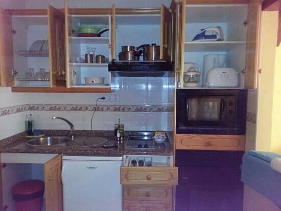 Castillo Beach: equipamiento cocina