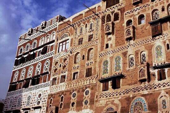 Sanaa, Jemen: الفن المعماري - صنعاء القديمة