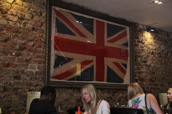 Mike's Cafe: Very English indeed!