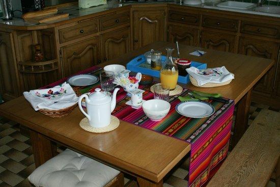 Fauvette et Lisa : Le petit déjeuner