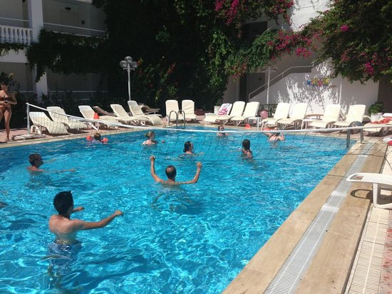 Golden Gate Apart Hotel: Water VolleyBall