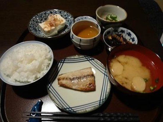 Guest House Kioto: breakfast 600yen