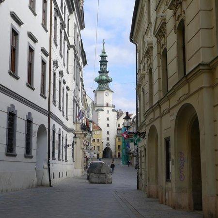St. Michael's Tower & Street - Bratislava