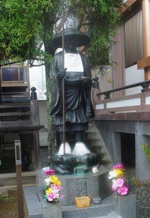 Zenrakuji: 大師の像 高知の大師様はお若い気がする