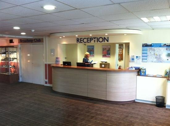 Parkdean - Torquay Holiday Park: Torquay main reception