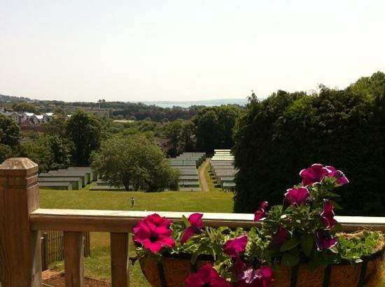 Parkdean - Torquay Holiday Park: view from the patio bar