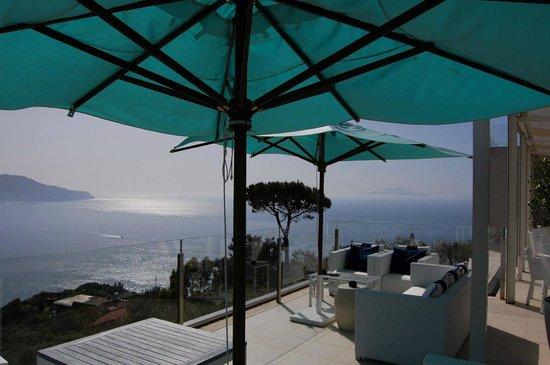 Relais Blu Belvedere: Main terrace