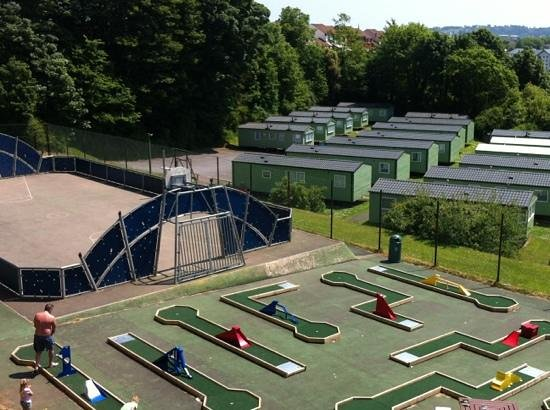 Parkdean - Torquay Holiday Park: crazy golf and multi sports court
