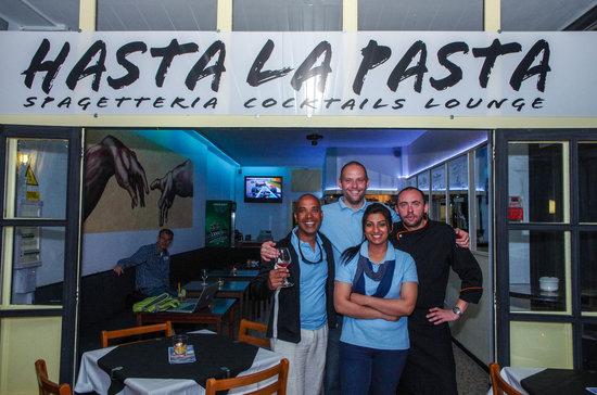 Pasta Pasta: Hasta La Pasta Team