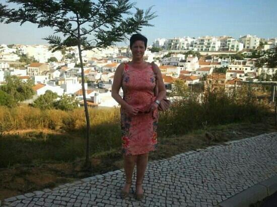 Vitor's Village Resort: overlooking the village