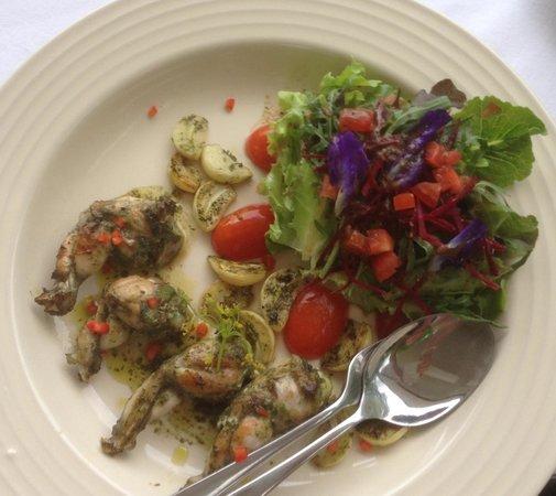 Mom Tri's Krapood Kitchen: Frog leg salad