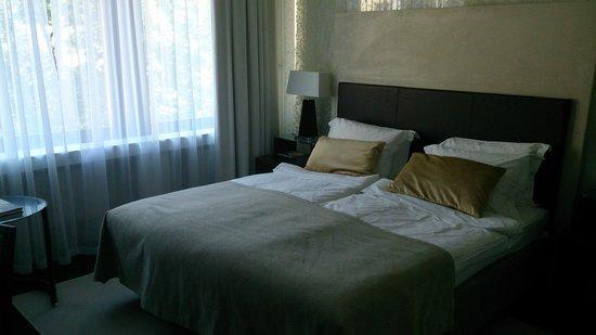 Elite Eden Park Hotel: Dubbelrum på 4:e våningen med utsikt mot gården