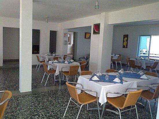 Restaurant del Hotel Zahara. Deliciosos platos
