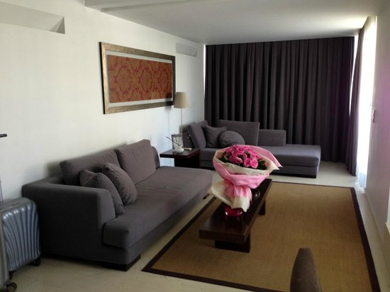 Brasil Suites Hotel Apartments: Living room