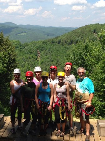 Berkshire East Canopy Tours: A good time was had by all