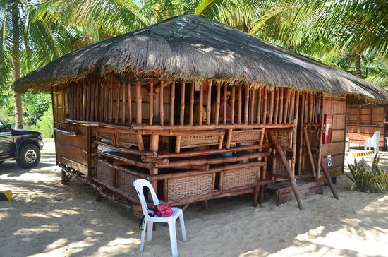 Glan, Philippines: One of the non-airconditioned cottages.