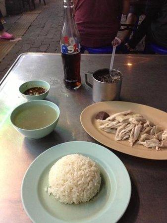 Hainanese Chicken Stall: Add a caption