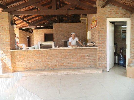 Ephesia Holiday Beach Club: Pizza MANN.