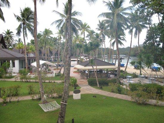 Palau Pacific Resort: Vor 6 Uhr früh