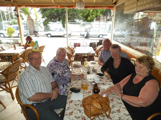 Ephesia Holiday Beach Club: Klaus hat einen ausgegeben.