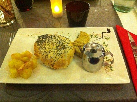 Velvet Restaurant: manzo in crosta