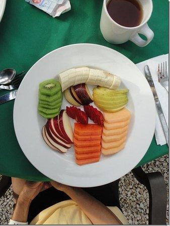 Mayan Bistro: Fruit Plate