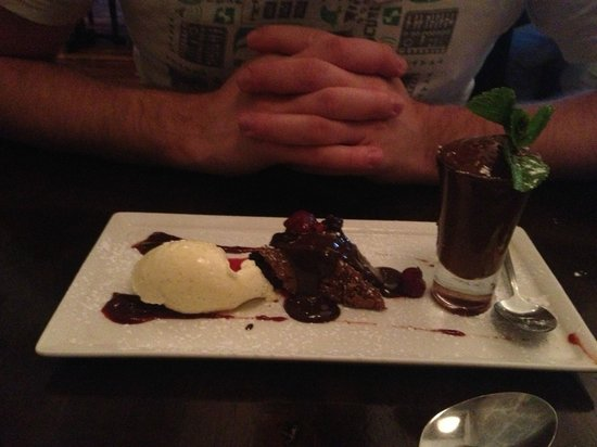 Arch Bistro: Chocolate Plate