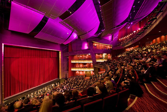 Bord Gáis Energy Theatre: The georgeous and elegant auditorium