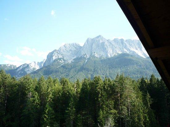 Hotel am Badersee: Blick von unserem Balkon