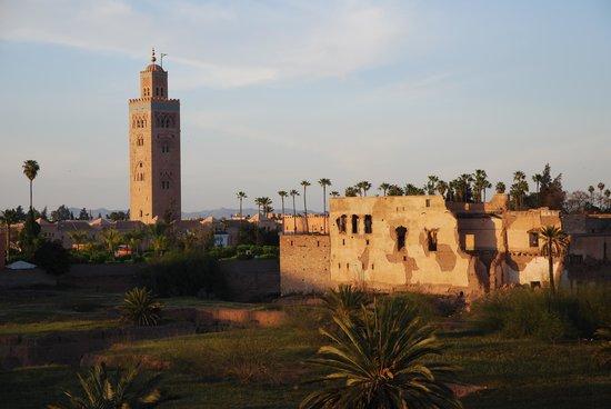 Riad Sidi Mimoune: Blick vom Dach des Riad