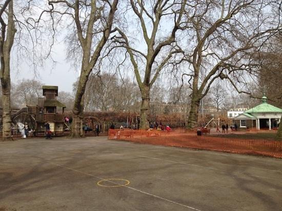 Coram's Fields: adventure playground and memorial pavillion