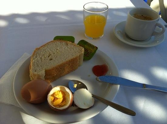 Akti Olous Hotel: simple choice from quite a varying selection including cooked breakfast. yum
