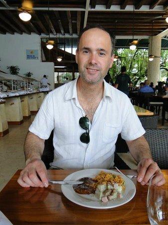 Hotel Las Americas Casa de Playa: Mmm... todo rico!