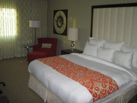 Renaissance Newark Airport Hotel: Room 941, king