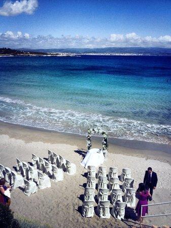 Matrimonio Spiaggia Alghero : Matrimoni in spiaggia picture of hotel dei pini alghero