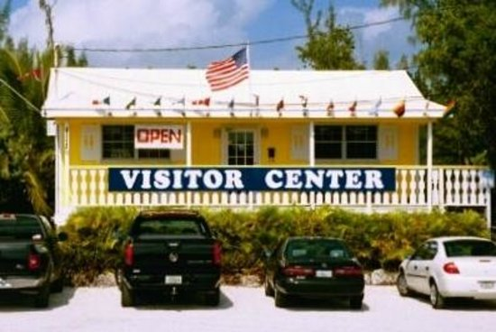 Key West Visitors Center: On your Right as you come on to Big Pine Key
