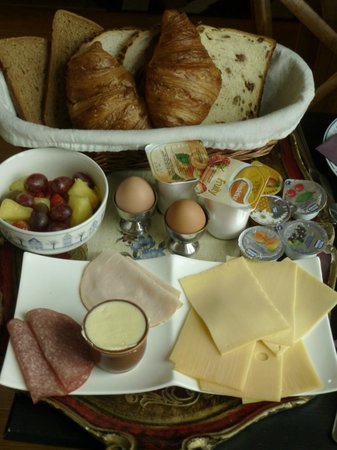 Eelhouse B&B: Tasty Breakfast