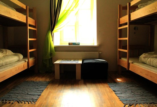 Pogo Hostel: Six bed dormitory type room