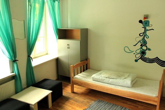 Pogo Hostel: Private twin bed room