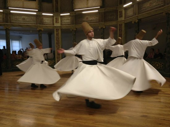 Sufi Music Concert & Whirling Dervishes Ceremony : Whirling Derwishes