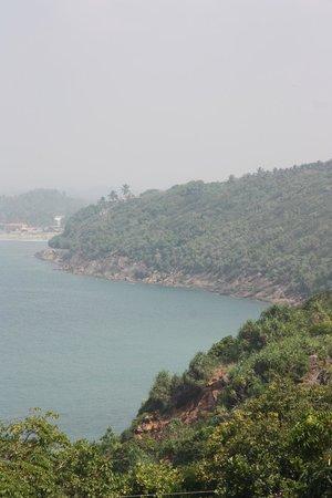 Jungle Beach: View from the Rumassala Hill