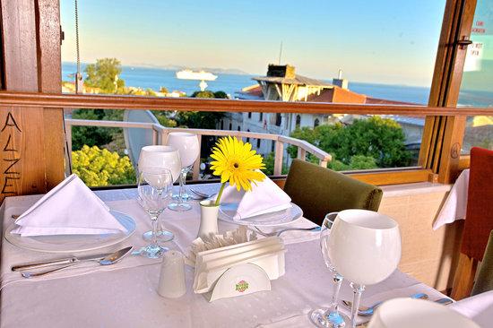 Alzer Hotel: Terrace