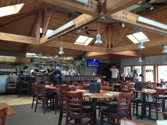 Johnny's Harborside : inside