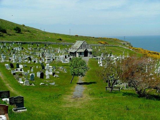 St. Tudno's Churchyard.
