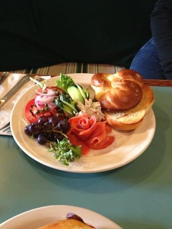Cafe Olga: Salmon plate