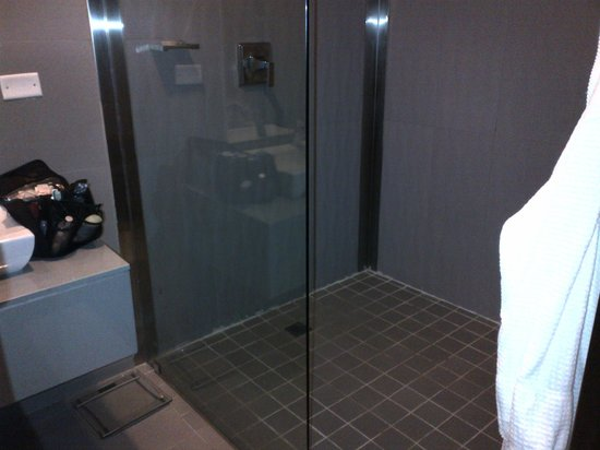Manrey Boutique Hotel: wide shower