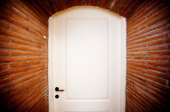 Casale Marittimo, Italy: Suite 3 - particolare vecchio arco mattoni