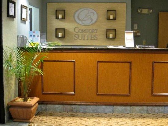 Comfort Suites: Front Desk/Reception