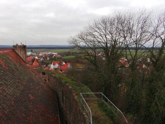 Hotel Burg Abenberg: Aussicht vom Zimmer im Schottenturm